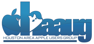 Houston Area Apple Users Group Logo